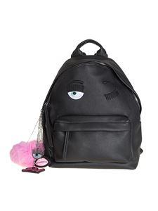 Chiara Ferragni - Hammereled eco-leather backpack