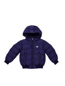 Dolce & Gabbana Jr - Hooded down jacket
