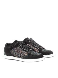 Jimmy Choo - Leather sneakers