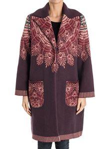 GIADA BENINCASA - Wool and viscose coat