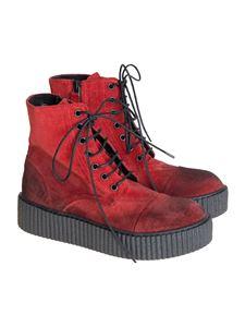 RUNDHOLZ BLACK LABEL - Velvet ankle boots