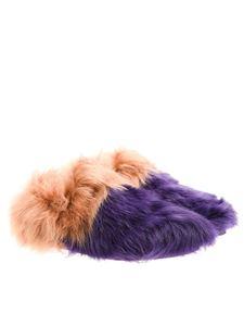 Car Shoe - Fur shoes