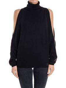 ELISABETTA FRANCHI - Wool and viscose sweater