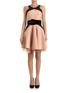 ELISABETTA FRANCHI - Scuba effect dress