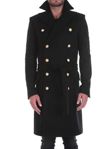Balmain - Wool and cashmere coat