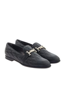 Tod's - Quilted leather loafers