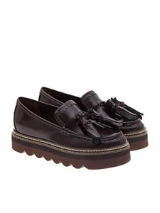 See by Chloé - Brushed leather moccasins