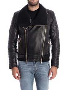 Balmain - Leather jacket