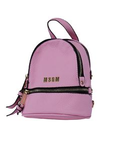 MSGM - Eco-leather backpack