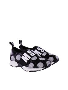 MSGM - Fabric sneakers