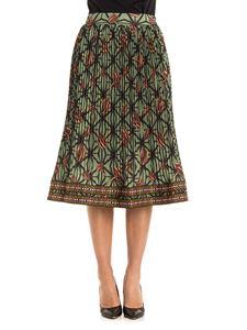 Stella Jean - Pleated skirt