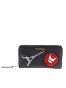 Karl Lagerfeld - Eco-leather wallet