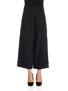 See by Chloé - Wool blend trousers