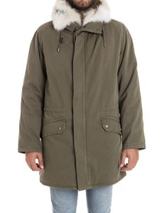 Yves Salomon - Cotton parka jacket