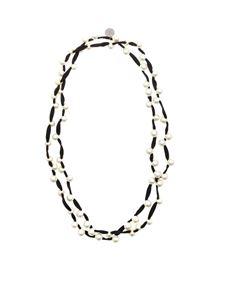 Maria Calderara - Elastic fabric necklace