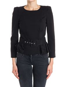 PATRIZIA PEPE - Stretch viscose jacket