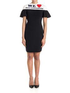 Moschino - Stretch cotton dress