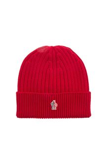 Moncler Grenoble - Ribbed wool watch hat