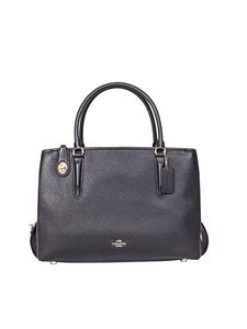 Coach - Hammered leather bag