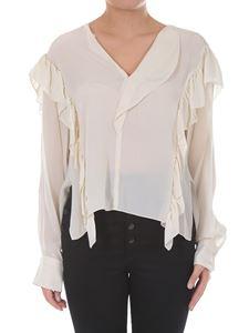 ISABEL MARANT ÉTOILE  - Cupro blouse