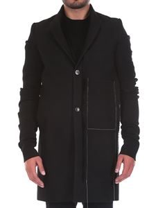 Rick Owens - Wool and cotton coat