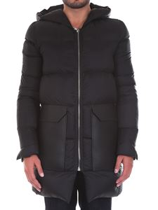 Rick Owens - Hooded down jacket