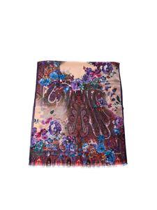 Etro - Wool and silk scarf