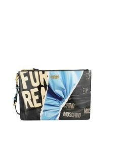Moschino - Eco-leather pouch