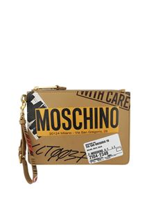 Moschino - Leather pouch