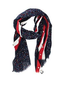Tommy Hilfiger - Cotton and modal scarf