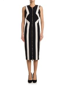ELISABETTA FRANCHI - Round neck dress
