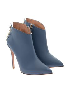 ELISABETTA FRANCHI - Leather ankle boots