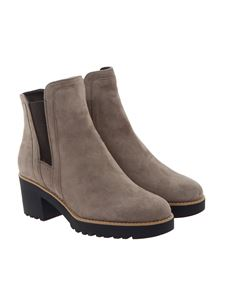Hogan - Suede ankle boots