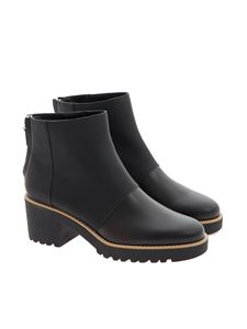 Hogan - Leather ankle boots