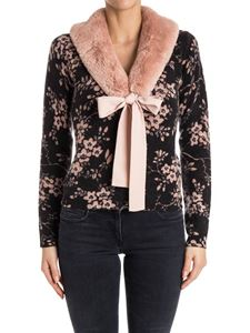 ELISABETTA FRANCHI - Wool and cashmere cardigan