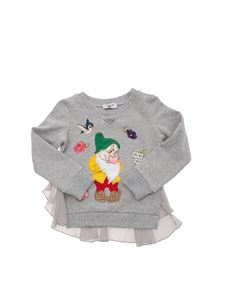 MONNALISA - Cotton sweatshirt