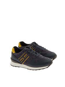 HOGAN JUNIOR - Suede sneakers