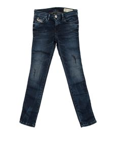 Diesel - Stretch cotton jogg jeans