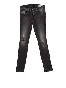 Diesel - Stretch cotton jeans