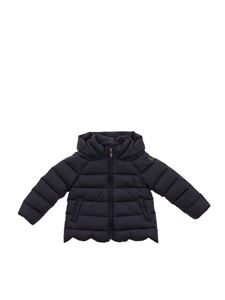 Il gufo - Hooded down jacket