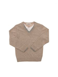 MANUEL RITZ - Cashmere blend sweater