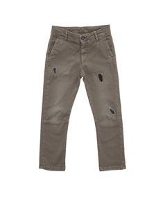 MANUEL RITZ - Cotton trousers