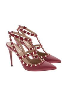 Valentino - Hammered leather shoes