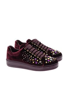 Prada - Velvet sneakers