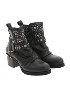 POLICE 883 - Leather ankle boots
