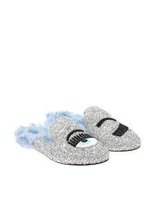 Chiara Ferragni - Glitter slippers