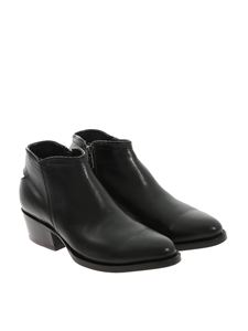 MEXICANA - Brushed leather ankle boots