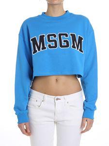 MSGM - Crop sweatshirt