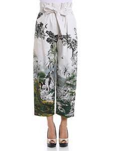 Alberta Ferretti - High waist trousers