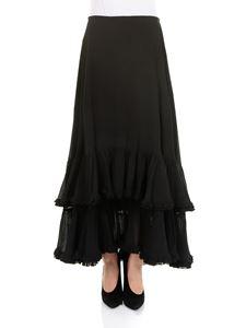 Chloé - Flounced skirt